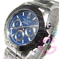 DON CLARK (Dan Clark) DM-2051-04/DM2051-04 chronograph blue men watch watch