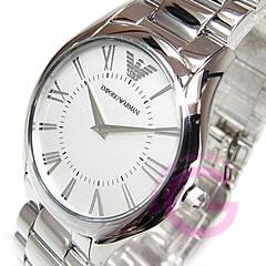 亚曼尼亚曼尼) AR2056 超薄金属带银女士手表手表