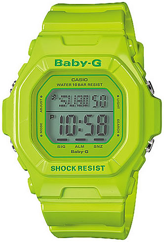 CASIO BABY-G (Casio baby G) BG-5606-3/BG-5606-3 timer mat black foreign countries model Lady's watch watch to pre-set
