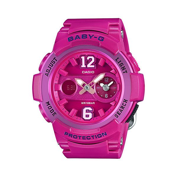 【並行輸入品】 CASIO BABY-G カシオ ベビーG BGA-210-4B2/BGA210-4B2 アナデジ ピンク レディース 腕時計 BGA-210-4B2JF/BGA210-4B2JF
