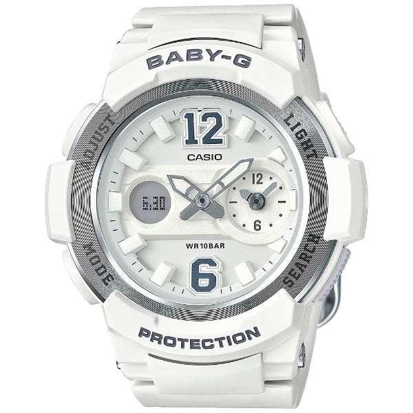 CASIO BABY-G カシオ ベビーG BGA-210-7B4/BGA210-7B4 アナデジ ホワイト レディース 腕時計 日本版型番:BGA-210-7B4JF/BGA210-7B4JF