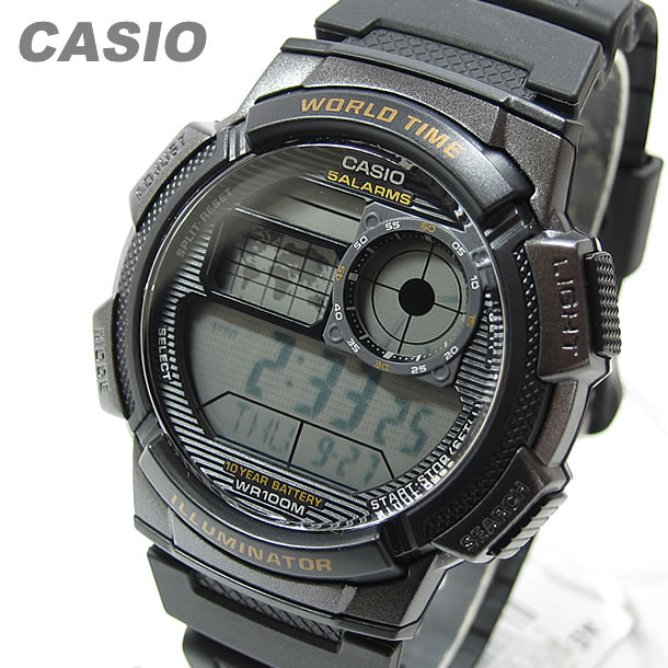 8c571268adb GoodyOnline  Sports world time with watch CASIO (CASIO) AE-1000W-1A ...