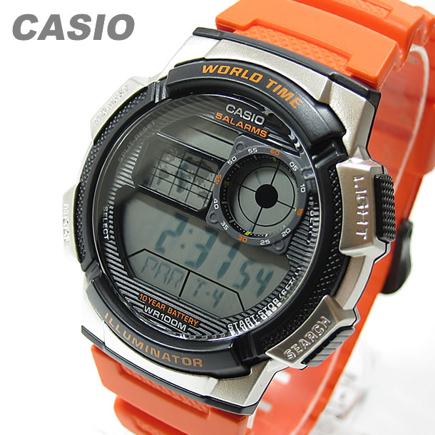 9ca47234bc9 GoodyOnline  CASIO (CASIO) AE-1000W-4B AE1000W-4B sports world time ...