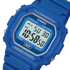 CASIO (Casio) F-108WH-2A/F108WH-2A standard digital blue men / unisex watch watch