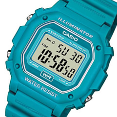 It is recommended for CASIO (Casio) F-108WH-3A2/F108WH-3A2 standard digital sky-blue kids, child! Pretty! Men's / unisex watch watch