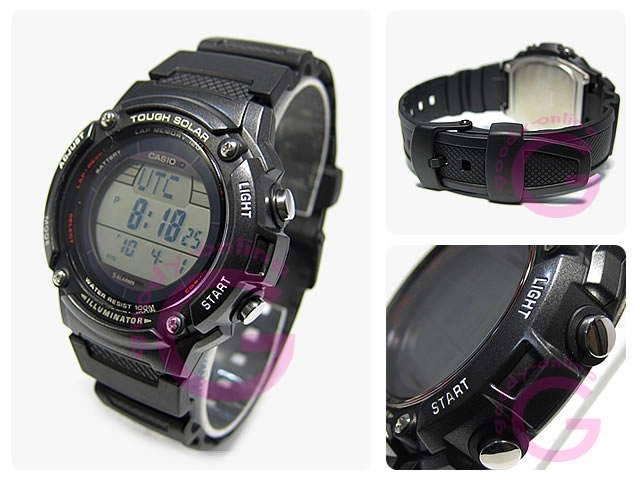 ce27e9754 GoodyOnline: Tough solar powered 120 lap memory watch CASIO (CASIO ...