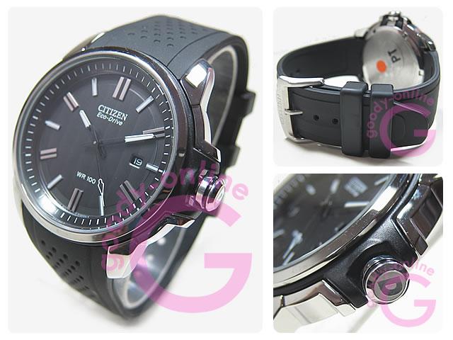 公民 (公民) AW1150 07E 生态驱动器 / 生态驱动黑带的手表手表