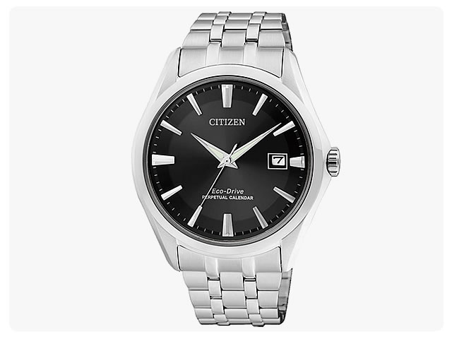CITIZEN (citizen) BL1280-54E EcoDrive / eco-drive solar black dial metal belt watch watches