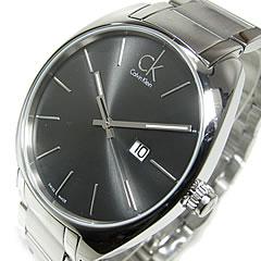 卡尔文 · 克莱恩 CK (卡尔文 · 克莱恩 CK) 手表代表黑色瑞士产的手表的 K2F211.61/K2F21161 交流交流