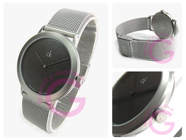 卡尔文 · 克莱恩 CK (卡尔文 · 克莱恩 CK) 最小 / 最小 K311110 K3111.10 网男装手表