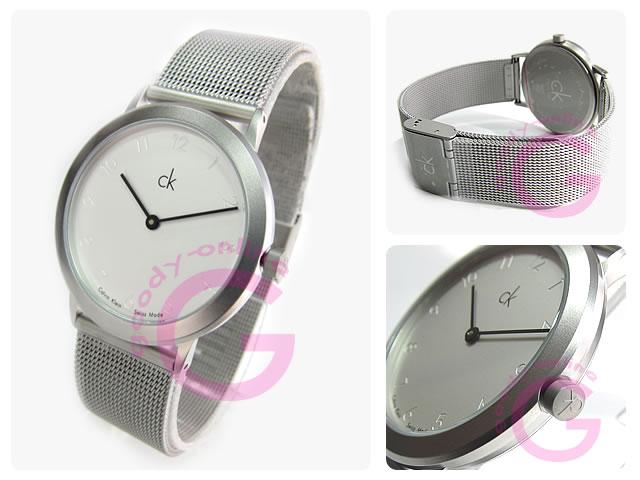 卡尔文 · 克莱恩 CK (卡尔文 · 克莱恩 CK) 最小 / 最小 K311120 K3111.20 网男装手表