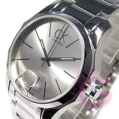 Calvin Klein(CK)Biz/商业K77411.26/K7741126不锈钢皮带人表手表