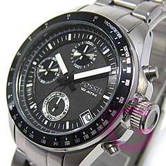 FOSSIL (fossil) CH2642 DECKER and Decker chronograph silver metal belt watch watches