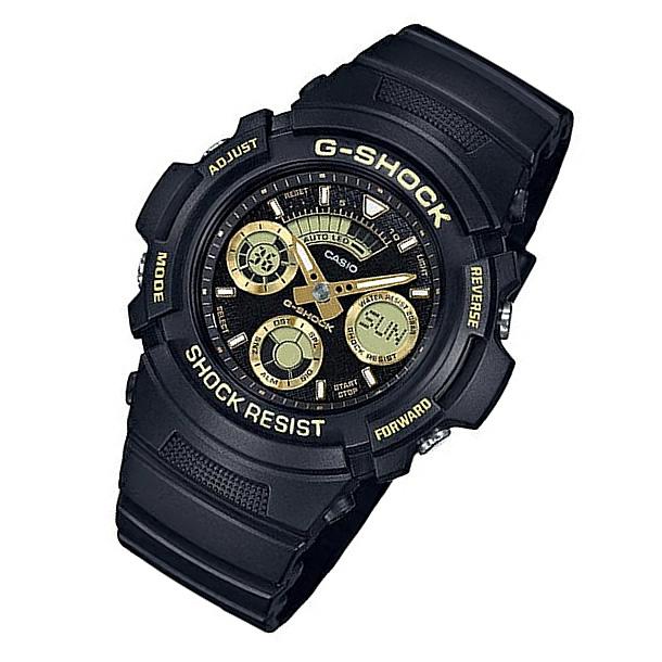CASIO G-SHOCK カシオ Gショック AW-591GBX-1A9/AW591GBX-1A9 アナデジ ブラック/ゴールド メンズウォッチ 腕時計 日本版型番:AW-591GBX-1A9JF/AW591GBX-1A9JF