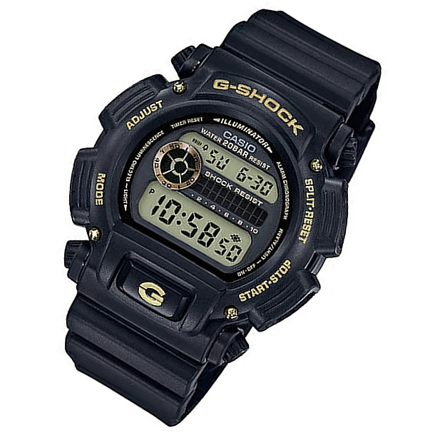 Japan 1a9dw9052gbx Black Gold Model A 9052gbx Shock Dw G Number Casio Version Digital Men Watch 1a9 cTFJKl1
