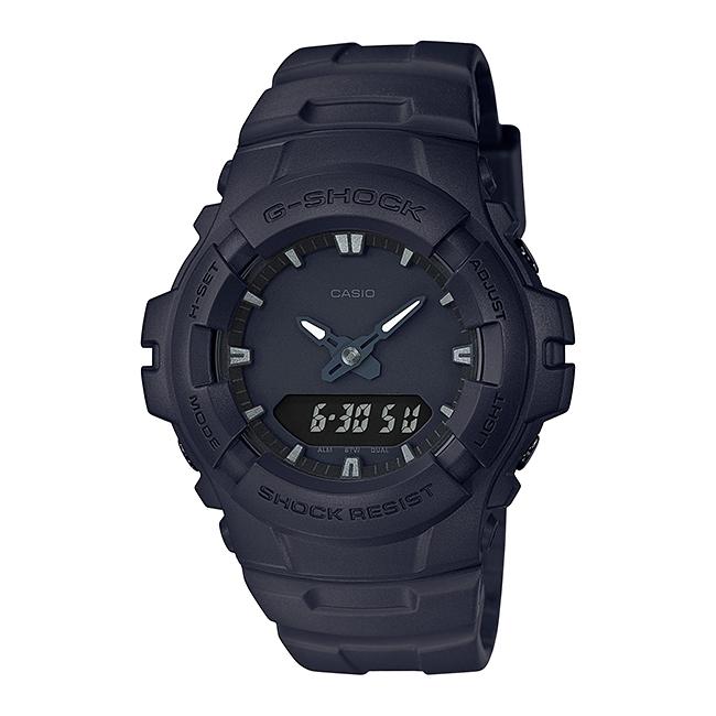 【並行輸入品】 CASIO G-SHOCK カシオ Gショック G-100BB-1A/G100BB-1A ベーシック アナデジコンビ オールブラック メンズウォッチ 腕時計