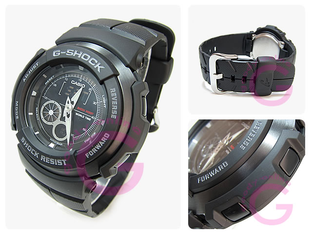 CASIO g-shock G-shock Casio G-301B-1A/G301B-1A G-SPIKE OO's / g spike ダブルオーズ an analog-digital watch