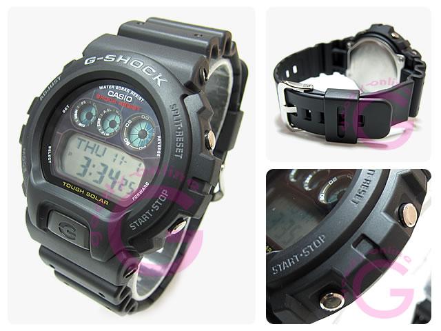 CASIO g-shock G-shock Casio G-6900-1/G6900-1 tough solar powered overseas model men's watch