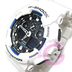 【並行輸入品】 CASIO G-SHOCK カシオ Gショック GA-100B-7A/GA100B-7A アナデジコンビ 速度計測 ホワイト メンズウォッチ 腕時計 【あす楽対応】