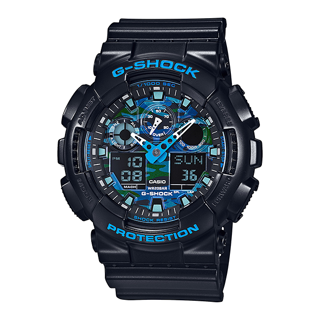【並行輸入品】 CASIO G-SHOCK カシオ Gショック GA-100CB-1A/GA100CB-1A アナデジコンビ 速度計測 ブラック メンズウォッチ 腕時計