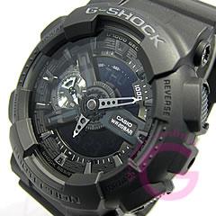 【並行輸入品】 CASIO G-SHOCK カシオ Gショック GA-110-1B/GA110-1B アナデジ ブラック メンズウォッチ 腕時計