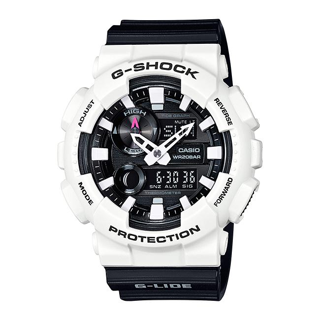 CASIO G-SHOCK カシオ Gショック GAX-100B-7A/GAX100B-7A G-LIDE/Gライド アナデジ タイドグラフ ブラック/ホワイト メンズ 腕時計 日本版型番:GAX-100B-7AJF/GAX100B-7AJF