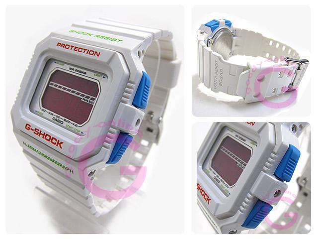 CASIO G-SHOCK(卡西欧G打击)GLS-5500P-7/GLS5500P-7 pureshasuhato耐低温仕様白人表手表
