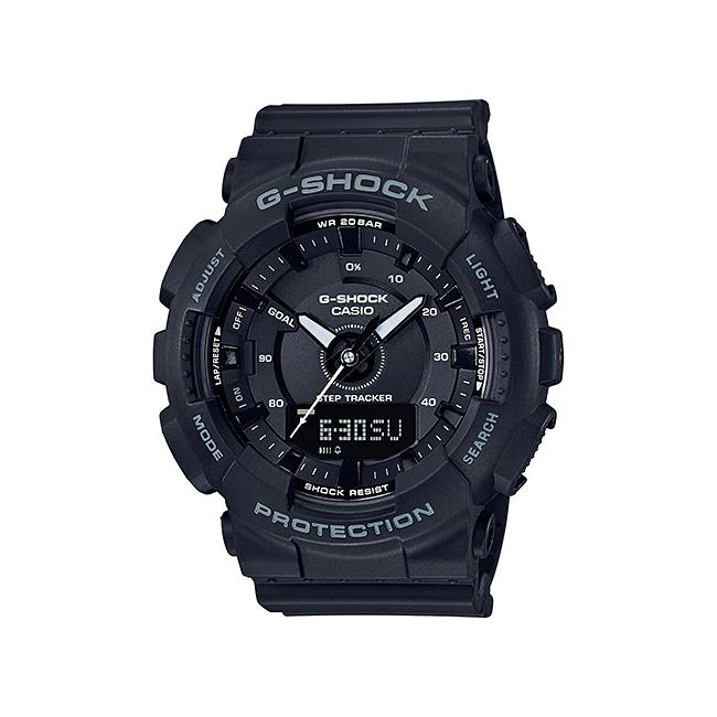 CASIO G-SHOCK カシオ Gショック GMA-S130-1A/GMAS130-1A S series/Sシリーズ アナデジ ブラック メンズ 腕時計 日本版型番:GMA-S130-1AJF/GMAS130-1AJF