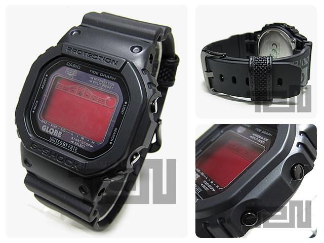 CASIO G-SHOCK(卡西欧G打击)GRX-5600GE-1/GRX5600GE-1 GLOBE UNITED BY FATE联合型号潮图表强壮的太阳能搭载手表