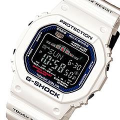 CASIO G-SHOCK(卡西欧G打击)GWX-5600C-7/GWX5600C-7 G-LIDE/G骑潮图表强壮的太阳能多频段6白人表手表(日本版的型号:GWX-5600C-7JF/GWX5600C-7JF)