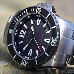 【世界限定ウォッチ】LUM-TEC/LUMTEC(ルミテック) 300M-1 自動巻き ダイバーズウォッチ 300m防水 40mm 替えベルト付き メンズウォッチ 腕時計