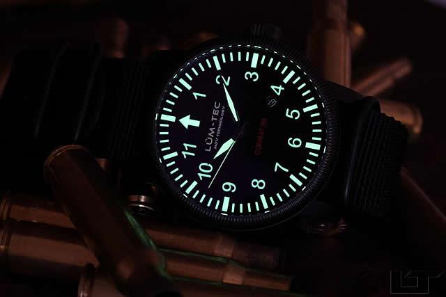 LUM-TEC(Lumi技术)Combat-B6自动卷军事碳化钛PVD人表手表