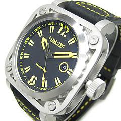 【世界限定生産】 LUM-TEC/LUMTEC(ルミテック) G4 Gシリーズ ロンダクォーツ搭載 レザーベルト イエロー メンズウォッチ 腕時計
