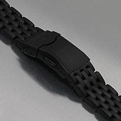 LUM-TEC (ルミテック) Combat B Autoモデル対応 316Lステンレス/PVD 純正 替えベルト 腕時計