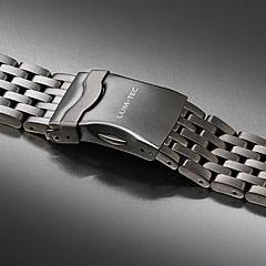 LUM-TEC (ルミテック) Combat B クロノグラフモデル対応 316Lステンレス/SS 純正 替えベルト 腕時計