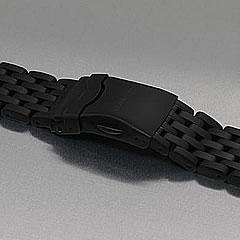 LUM-TEC (ルミテック) Combat B クォーツモデル対応 316Lステンレス/PVD 純正 替えベルト 腕時計