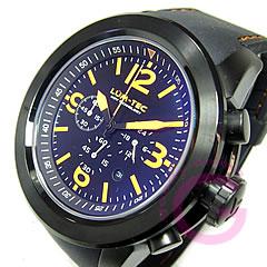 【世界限定生産】 LUM-TEC/LUMTEC (ルミテック) LZ10 LUMZILLA/ルミジラ クロノグラフ Miyota OS20ムーブメント搭載 チタンカーバイドPVD デイト オレンジ 腕時計 【あす楽対応】