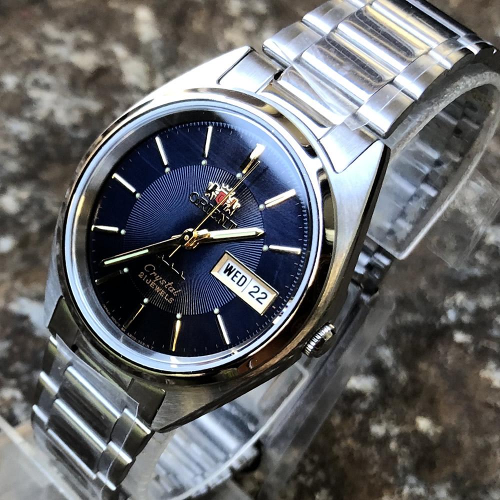 オリエント ORIENT スリースター FAB00006D9 オートマティック 自動巻 ステンレス ベルト メンズウオッチ 腕時計