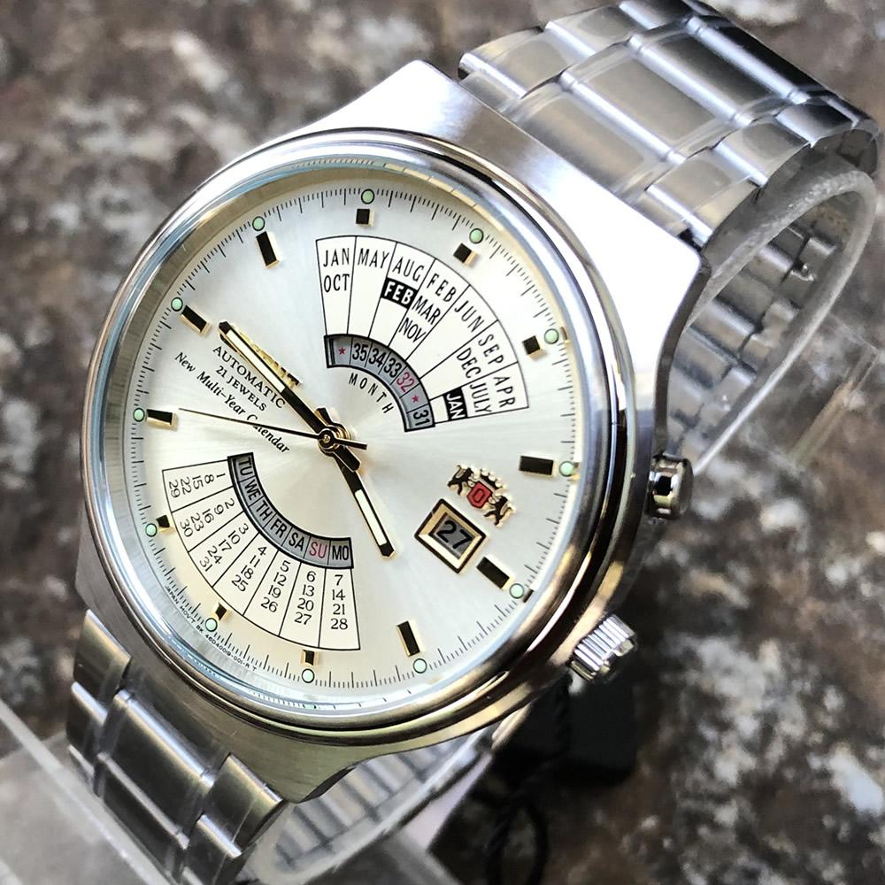 オリエント ORIENT 万年カレンダー FEU00002CW オートマティック 自動巻 ステンレス ベルト メンズウオッチ 腕時計