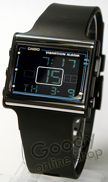 CASIO POPTONE(卡西欧pop调子)LDF-10-1AVDR/LDF10-1AVDR振动预告功能数码男女两用手表
