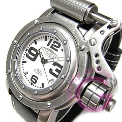 RETROWERK ( retreck ) R006/R-006 automatic self-winding Switzerland ETA movement piston arm Germany ship motif luminous dial men's watch