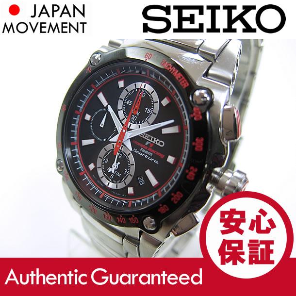 SEIKO SPORTURA(seikosupochura)SNA749P2本田赛车F1组协作型号警报计时仪人表手表