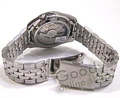 SEIKO5 精工) 精工 / 精工 5 SNK375K1 自动缠绕黑色男士 PA 的手表手表