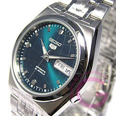 SEIKO(精工)SEIKO5/精工5 SNK665K1自动卷金属绿色人表手表