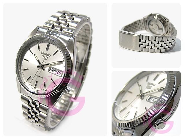 SEIKO (Seiko) SEIKO5 / Seiko 5 SNXJ89K automatic winding metal silver men's watch