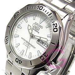 SEIKO(精工)SEIKO5/精工5体育SNZ387K1自动卷金属皮带人表手表