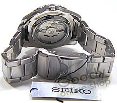 SEIKO5 ( Seiko ) SEIKO SPORTS, Seiko 5 sports SNZF15J1 automatic self-winding Navy, レッドベゼル watch