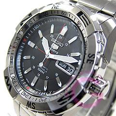 精工 (Seiko) SEIKO5 / 精工 5 SNZJ05J1 自动缠绕体育 / 运动潜水手表,男士手表