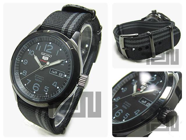 SEIKO5/说共-5 SRP277J1人表自动卷SEIKO5手表