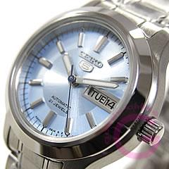 SEIKO(セイコー) SEIKO5/セイコー5 SYMD89K1 自動巻き 手巻き付 ブルー レディースウォッチ 腕時計【OAJ】
